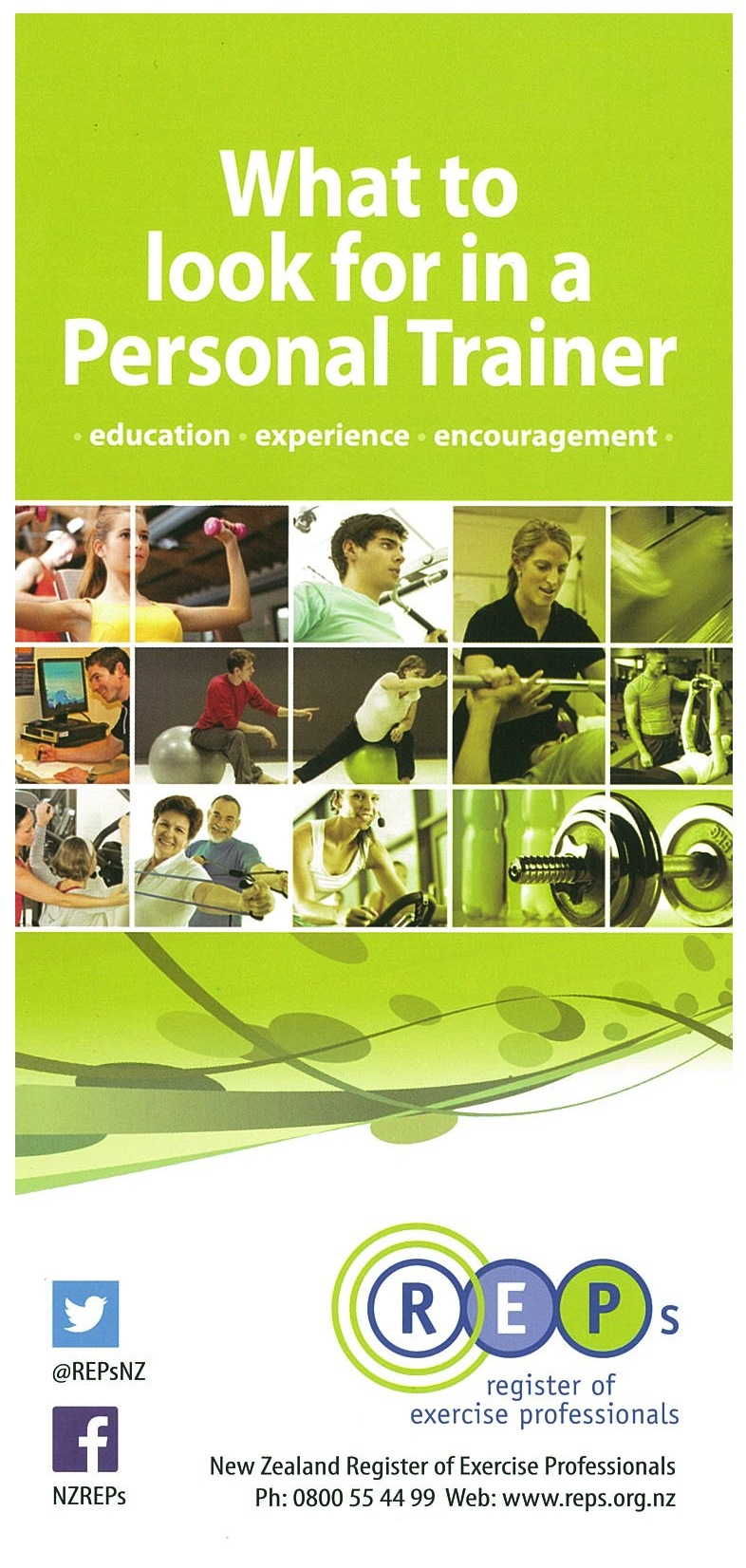 new zealand register of exercise professionals