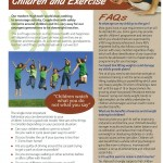 Children and Exercise (Pack of 200)