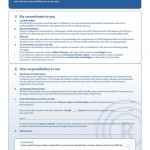PT Client and Trainer Agreement Pad