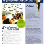Is Group Exercise for Me? (Pack of 200)